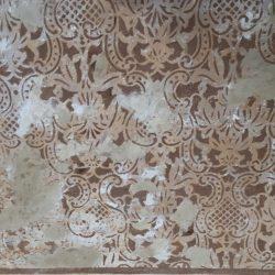 restauro parete dipinta prima 2