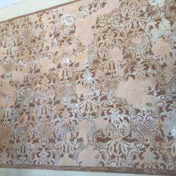 restauro parete dipinta prima 3