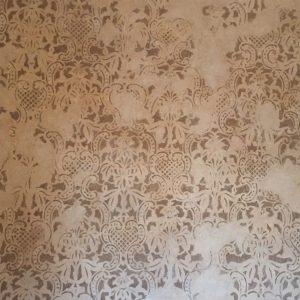 restauro parete dipinta dopo 1