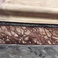 basamento in finto marmo Chiesa di San Giovanni Sanfre' (cn) (3)